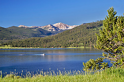 West Yellowstone Montana, Hebgen Lake, Montana, Centennial Mountains