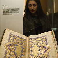 London Feb 18 The British Museums opens its doors to the Iran Exhibition Shah Abbas the Remaking of Iran which explores  the periods between 1587 and 1629<br /> <br /> <br /> Standard Licence feee's apply  to all image usage<br /> Marco Secchi - Xianpix tel +44 (0) 845 050 6211 <br /> e-mail ms@msecchi.com <br /> http://www.marcosecchi.com