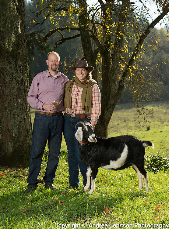 Brian Marcy and Clare Carver, Big Table Farm, Gaston, Willamette Valley, Oregon