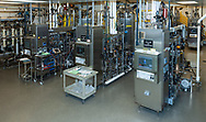 Photo of high tech biotech factory that makes things like vaccines