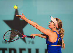 May 5, 2019 - Madrid, MADRID, SPAIN - Danielle Collins of the United States in action during her first-round match at the 2019 Mutua Madrid Open WTA Premier Mandatory tennis tournament (Credit Image: © AFP7 via ZUMA Wire)