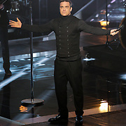 NLD/Hilversum/20121109 - The Voice of Holland 2012 1e liveshow, optreden Robbie Williams