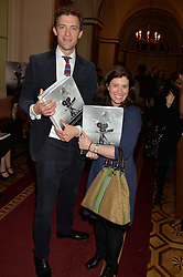 DONALD RICE and MARY HENELY-MAGILL at a party to celebrate the publication of  'I Used to be in Pictures' an untold story of Hollywood by Austin Mutti-Mewse and Howard Mutti-Mewse held at The Lansdowne Club, London on 6th March 2014.