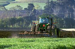 Farming in Los Osos Valley in San Luis Obispo County California.