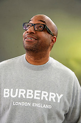"""Pictured: Kwame Alexander<br /><br />Kwame Alexander is an American writer of poetry and children's fiction. His verse novel The Crossover won the 2015 Newbery Medal recognizing the year's """"most distinguished contribution to American literature for children."""" It was also selected as an Honor book for the Coretta Scott King Award.<br /><br />Ger Harley 