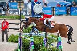 Augier de Moussac Emma, CZE, Diva<br /> World Equestrian Games - Tryon 2018<br /> © Hippo Foto - Dirk Caremans<br /> 19/09/2018