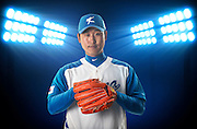 TAICHUNG, TAIWAN - FEBRUARY 27: XXX of Team Korea poses during WBC Photo Day at the Douliu Baseball Stadium on February 27, 2013 in Douliu, Taiwan. (Photo by Victor Fraile/Getty Images for Topps)