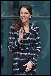 October 14, 2016 - Manchester, United Kingdom - Image licensed to i-Images Picture Agency. 14/10/2016. Manchester, United Kingdom. The Duchess of Cambridge leaving the National Football Museum  in Manchester. Picture by Stephen Lock / i-Images (Credit Image: © Stephen Lock/i-Images via ZUMA Wire)