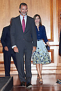 090716 Spanish Royals Attend Commemoration of the centenary of the birth of Camilo Jose Cela