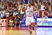 DESCRIZIONE : Campionato 2014/15 Serie A Beko Grissin Bon Reggio Emilia -  Dinamo Banco di Sardegna Sassar Finale Playoff Gara1<br /> GIOCATORE : Vitalis Chikoko<br /> CATEGORIA : Ritratto Esultanza<br /> SQUADRA : Grissin Bon Reggio Emilia<br /> EVENTO : LegaBasket Serie A Beko 2014/2015<br /> GARA : Grissin Bon Reggio Emilia - Dinamo Banco di Sardegna Sassari Finale Playoff Gara1<br /> DATA : 14/06/2015<br /> SPORT : Pallacanestro <br /> AUTORE : Agenzia Ciamillo-Castoria/GiulioCiamillo