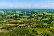 Nederland, Gelderland, Achterhoek, 29-05-2019; landelijk gebied westelijk van Winterswijk, oostelijk van Lichtenvoorde. Met onder andere Vragenderveen en de spoorlijn Winterswijk - Zutphen (Arriva).<br /> Rural area west of Winterwijk, east of Lichtenvoorde with, among others, Vragenderveen (former peat bog).<br /> <br /> luchtfoto (toeslag op standard tarieven);<br /> aerial photo (additional fee required);<br /> copyright foto/photo Siebe Swart