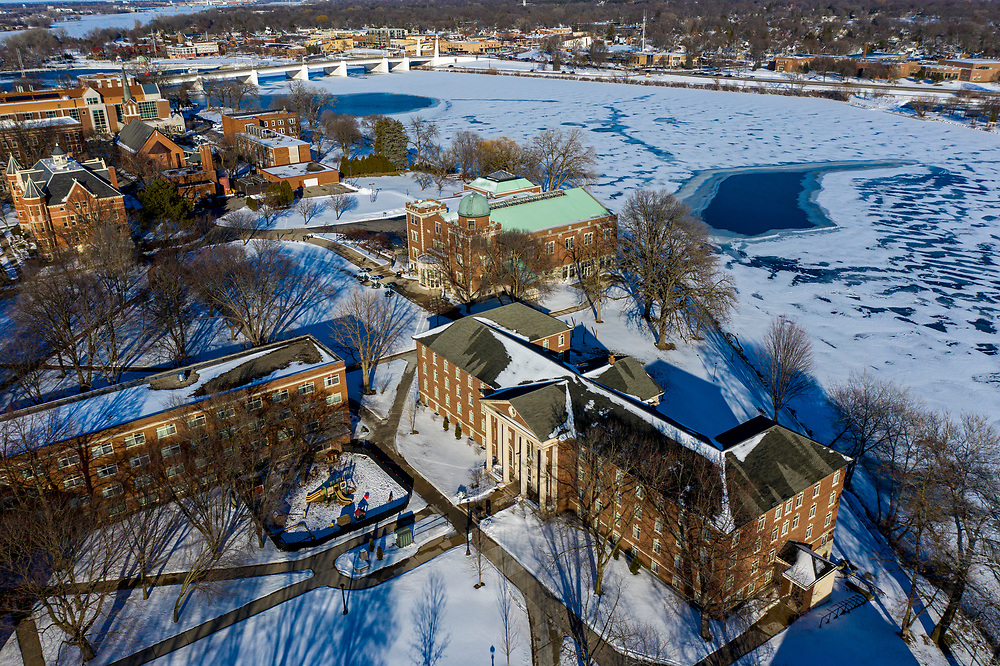 St Norbert College Feb 2021 Photo by Mike Roemer