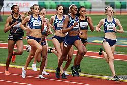 USATF Grand Prix track and field meet<br /> April 24, 2021 Eugene, Oregon, USA<br /> Nike, womens 800,