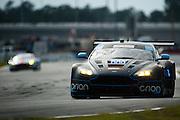 January 22-25, 2015: Rolex 24 hour. 009, Aston Martin, V12 Vantage, GTD, Derek DeBoer, Max Riddle