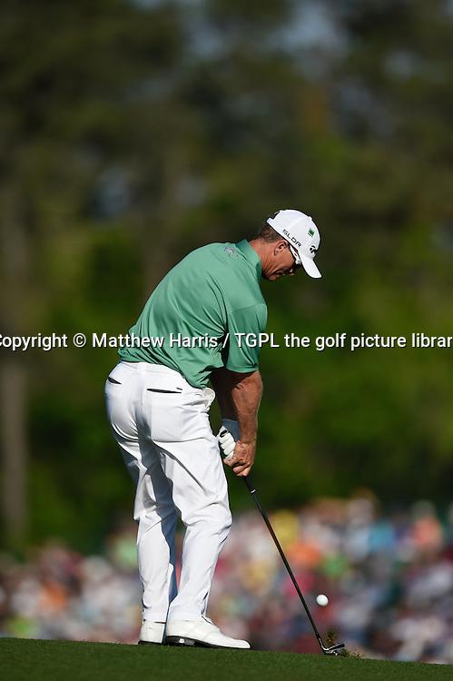 John SENDON (AUS) during third round US Masters 2014,Augusta National,Augusta, Georgia,USA.