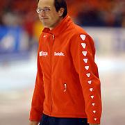 NLD/Heerenveen/20060122 - WK Sprint 2006, 2de 1000 meter dames, Jacques Orie