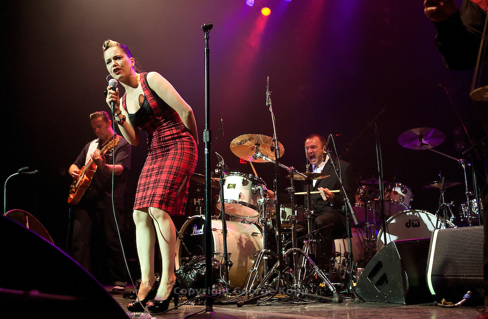 Imelda May Band at Wellmont Theater, Montclair, NJ opening for Jeff Beck 6/14/2010.