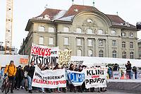 SCHWEIZ - BERN - Klimastreik vor der Nationalbank - 18. Januar 2019 © Raphael Hünerfauth - http://huenerfauth.ch