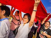 Wat Saket Temple Fair Parade 2014