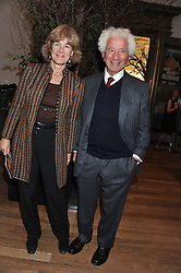 LORD & LADY GAVRON at a private view to celebrate the opening of the Royal Academy's exhibition of work by David Hockney held at The Royal Academy, Burlington House, Piccadilly, London on 17th January 2012.