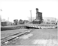 Durango yard - looking south across the turntable.<br /> D&RGW  Durango, CO
