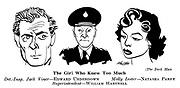 The Dark Man ; Edward Underdown , Natasha Parry and William Hartnell..