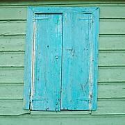 Window in St Johns, Antigua.