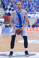 Gipuzkoa Basket Henk Norel during Liga Endesa match between San Pablo Burgos and Gipuzkoa Basket at Coliseum Burgos in Burgos, Spain. December 30, 2017. (ALTERPHOTOS/Borja B.Hojas)