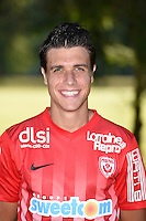 Joffrey Cuffaut of Nancy poses for a portrait during the Nancy squad photo call for the 2016-2017 Ligue 1 season on August 25, 2016 in Nancy, France<br /> Photo : Fred Marvaux / Icon Sport