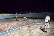 Night sports in Gibara, Holguin, Cuba.
