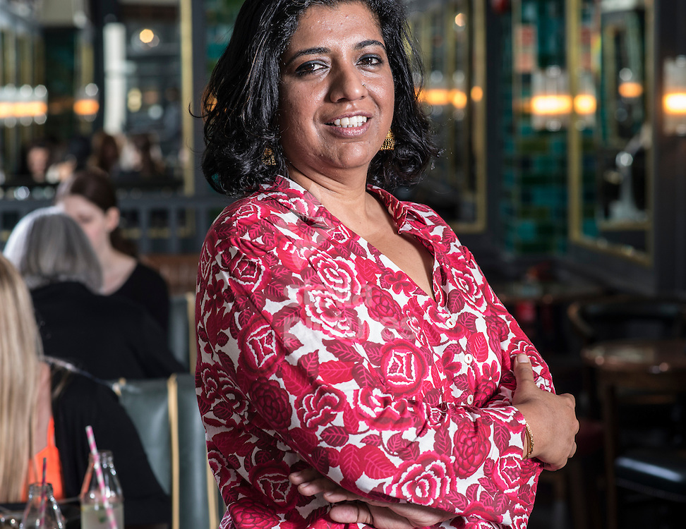 Asma Khan chef and owner of Darjeeling Express, Soho, London <br /> Picture by Daniel Hambury/Stella Pictures Ltd +44 7813 022858<br /> 20/07/2015