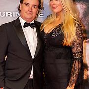 NLD/Amsterdam/20200217-Suriname filmpremiere, Huub van Ballegooy en partner Robin Bottemanne