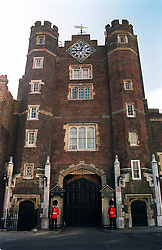 St James's Palace, built between 1531 and 1536 by King Henry VIII.