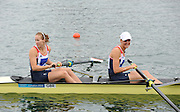 Eton Dorney, Windsor, Great Britain,..2012 London Olympic Regatta, Dorney Lake. Eton Rowing Centre, Berkshire[ Rowing]...Description;   Women's Pair Final Gold Medalist   GBR W2- Helen GLOVER (b) , Heather STANNING (s)  Dorney Lake. 12:18:13  Wednesday  01/08/2012.  [Mandatory Credit: Peter Spurrier/Intersport Images].Dorney Lake, Eton, Great Britain...Venue, Rowing, 2012 London Olympic Regatta...