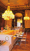 The Cristal Room restaurant, baccarat museum, paris
