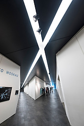 Interior of  Jewish Museum , in Berlin, Germany