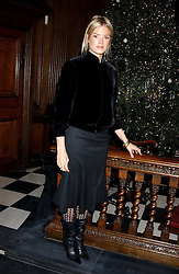 ISABELLA ANSTRUTHER-GOUGH-CALTHORPE at Carols from Chelsea in aid of the Institute of Cancer Research at the Royal Hospital Chapel, Chelsea, London on 1st December 2005.<br />