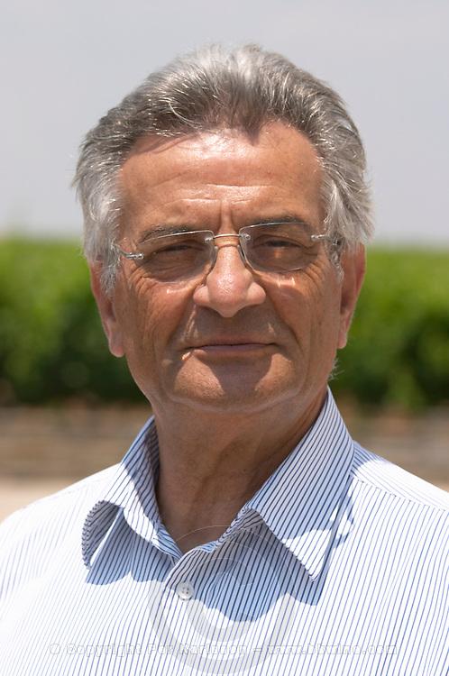 George Tsantalis. Tsantali Vineyards & Winery, Halkidiki, Macedonia, Greece.