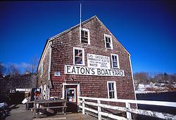 Eaton's Boatyard, Castine, Maine, US