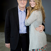 Sir Ken Robinson and his daughter, Kate.
