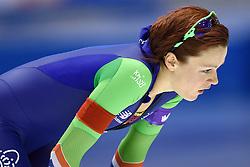 11-12-2015 NED: ISU World Cup, Heerenveen<br /> 500 meter vrouwen / Een balende Jorien ter Mors die 11de wordt op de 500 meter