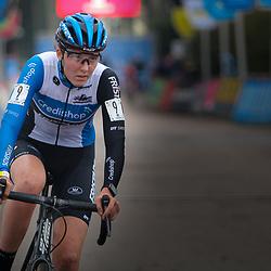 12-12-2020: Wielrennen: Veldrijden Scheldecross: Antwerpen<br />Manon Bakker