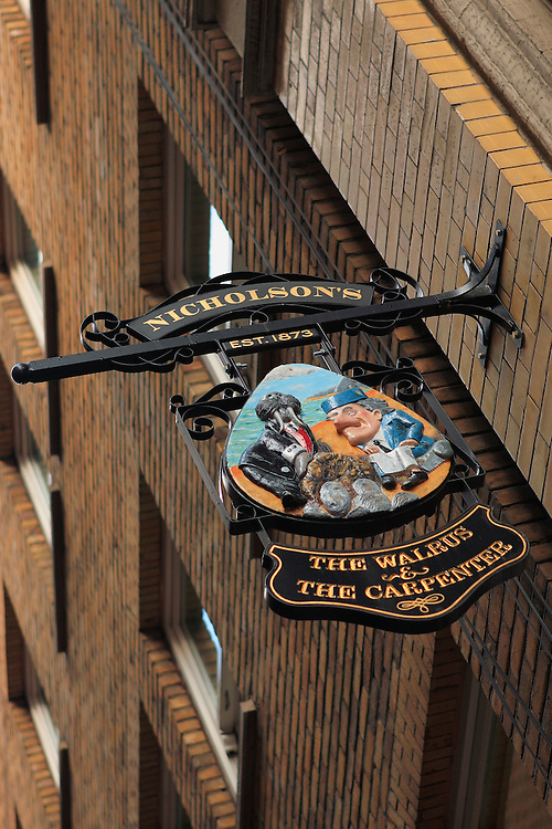 Nicholson's Pub Sign - London