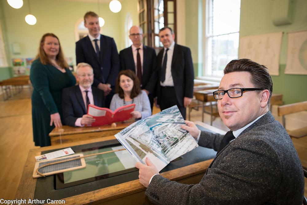 NO FEE PICTURES <br /> 16/4/19 Prof Michelle Norris, UCD, Dr Rory O'Donnell, Director BESC, John Coleman, CEO, Land Development Agency, Ailish Comford, Fair Rent Homes, Jim Baneham, Housing Agency, David Silke, Housing Agency and Dr Daithi Downey, Dublin City Housing Observatory at a discussion on Cost Rental models of housing took place this morning during a seminar entitled 'Delivering New Affordable Rental for Dublin', at Richmond Barracks in Inchicore, as part of the Vienna Model of Housing exhibition, taking place in Dublin until 25th April. Picture:Arthur Carron