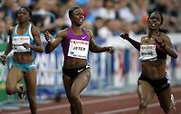 Friidrett , 5. juni 2010 , Bislett Games , Diamond League ,<br /> <br /> Carmelita Jeter , 200 m