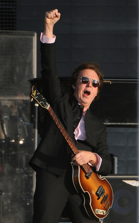 Paul mcartney  at Hard Rock  Calling <br /> Hyde Park <br /> Pix Dave Nelson