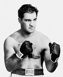 Rocky Marciano, former heavyweight boxing champion.