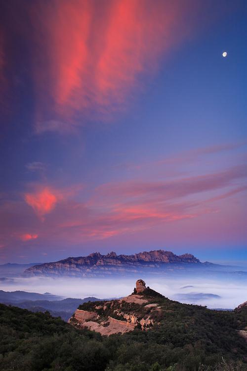 El Paller de tot l'Any y el Macizo de Montserrat, Parque Natural de Sant Llorenç del Munt i Serra de l'Obac, Barcelona