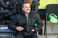 Forest Green Rovers manager, Mark Cooper during the EFL Sky Bet League 2 match between Forest Green Rovers and Crewe Alexandra at the New Lawn, Forest Green, United Kingdom on 22 December 2018.
