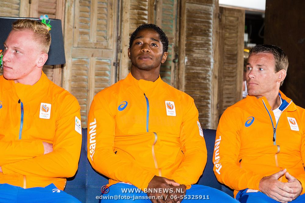 NLD/Scheveningen/20160713 - Perspresentatie judoka's voor de Olympische Spelen 2016 in Rio de Janeiro,